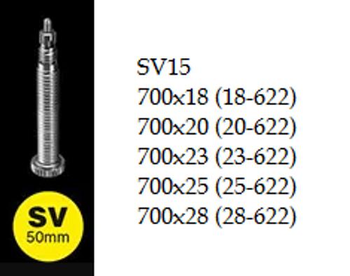 Schwalbe Inner Tube - 700c - SV15 50mm