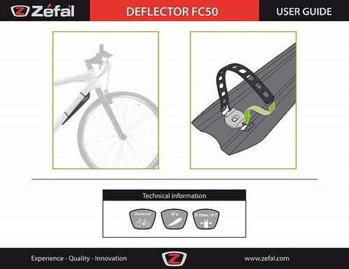 Zefal Deflector Front Mudguard FC50