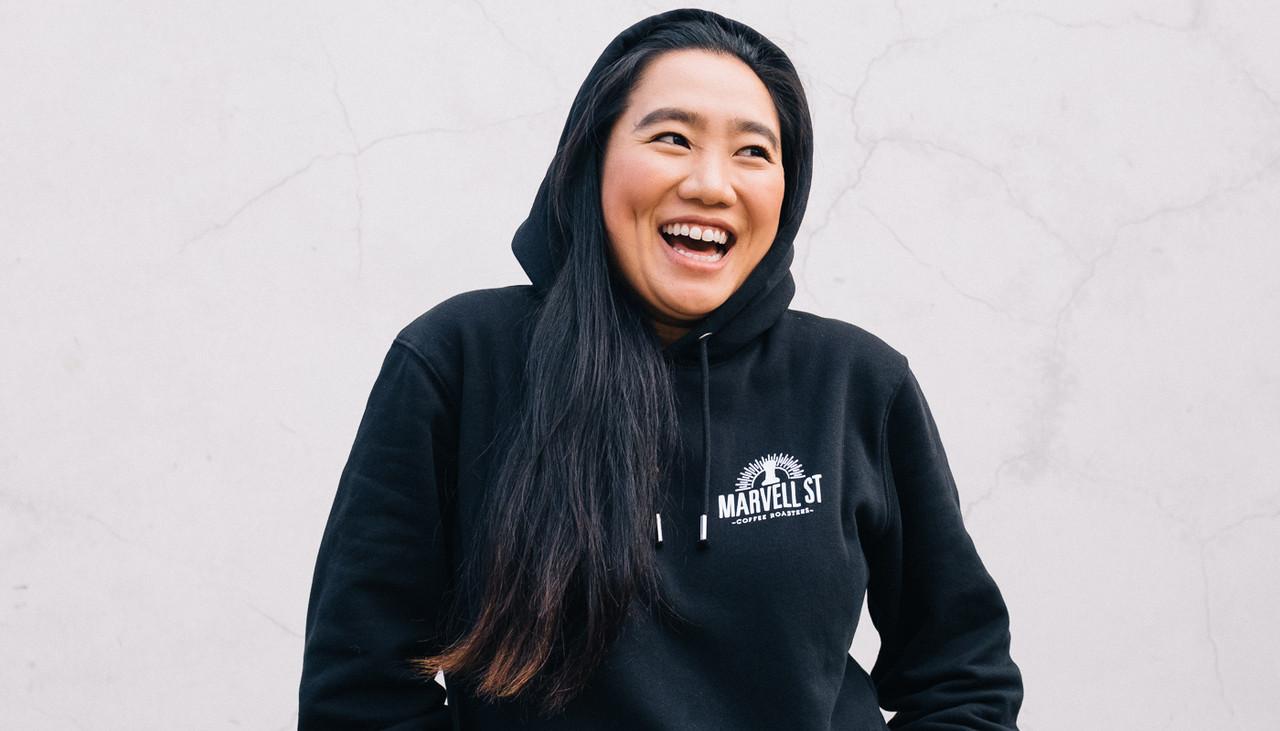 Warm hoodie jumper for winter