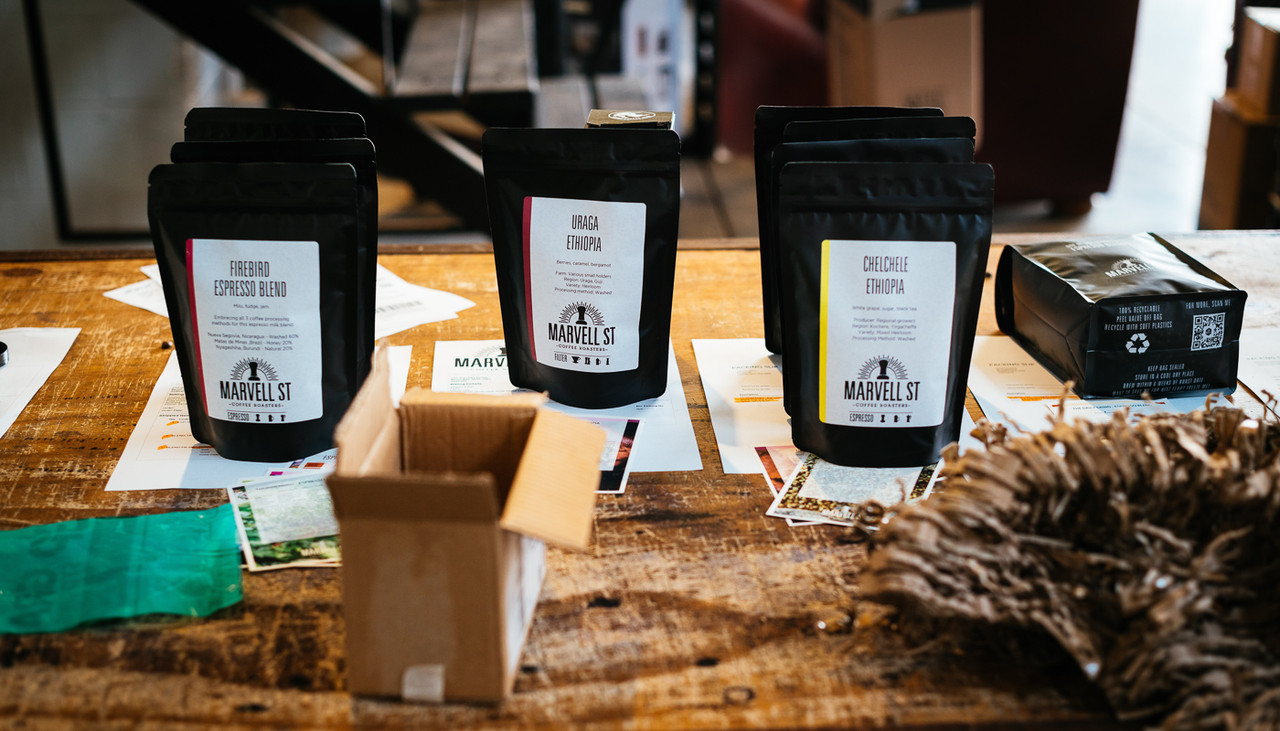 Marvell Street coffee single origin espresso filter