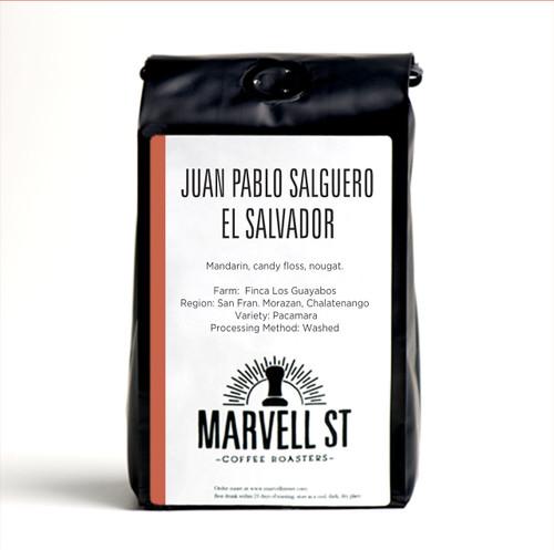 Juan Pablo Salguero - Pacamara - El Salvador