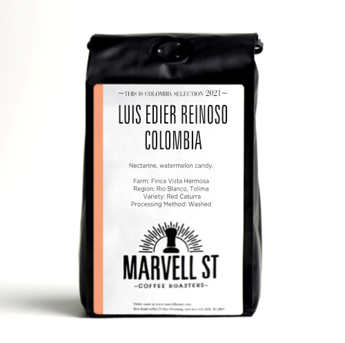 Luis Edier Reinoso - Red Caturra Micro Lot - Colombia