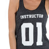 Spinning Instructor 01 Jersey Tank Womens