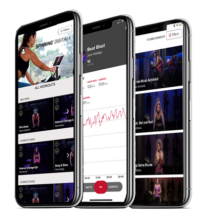 Three Spinning® Apps to Step Up Your Experience