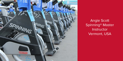 Angie Scott, Spinning® Master Instructor | Vermont, USA
