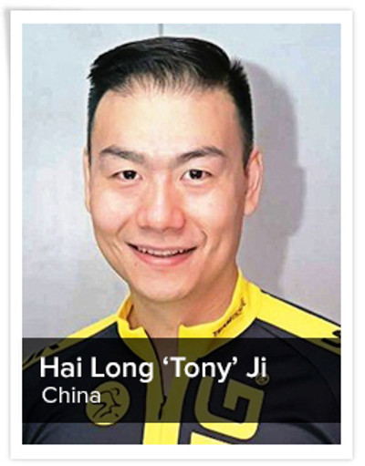 Hai Long 'Tony' Ji, Spinning® Master Instructor | China