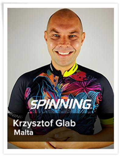 Krzysztof Glab, Spinning® Master Instructor | Malta