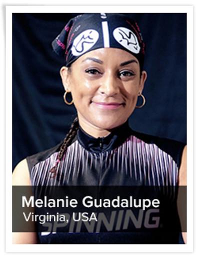 Melanie Guadalupe, Spinning® Master Instructor | Virginia, USA