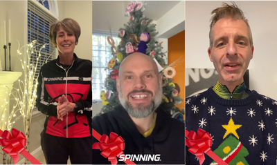 Season's Greetings from Spinning® Master Instructors Around the Globe!