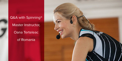 Q&A with Spinning® Master Instructor Oana Terteleac | Romania