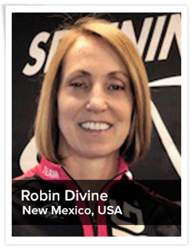 Robin Divine, Spinning® Master Instructor | New Mexico, USA