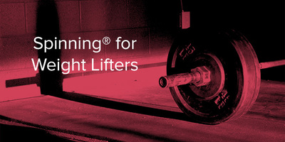 Spinning® Class Benefits for Weight Lifters