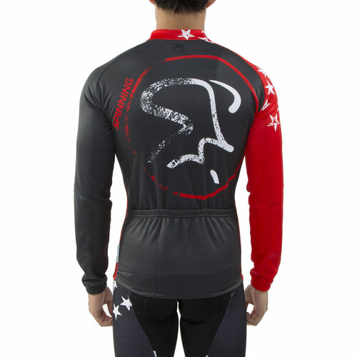 5bccece36 Spinning® Gemini Men s Cycling Jacket Red  Spinning® Gemini Men s Cycling  Jacket ...