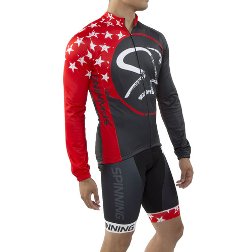 Spinning® Gemini Men's Cycling Jacket Red
