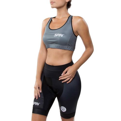 Spin® Pro Bra Womens Grey