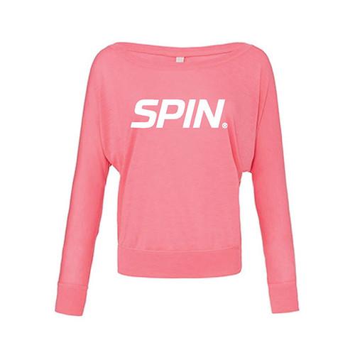 SPIN® Off the Shoulder L/S Shirt
