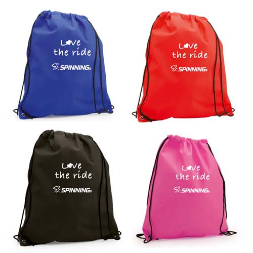 Love the Ride Drawstring Bag
