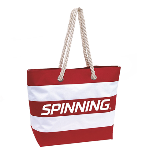 Spinning Beach Bag Red