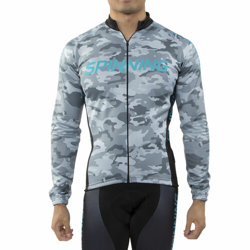 Spinning® UNISEX Hercules Cycling Jacket Blue