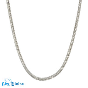 925 Sterling Genuine Silver Silver chain SDASC01a SkyDivine Jewelry