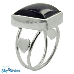 Sterling Silver amethyst Ring SDR2112 SkyDivine Jewellery RingSize 7.5 US