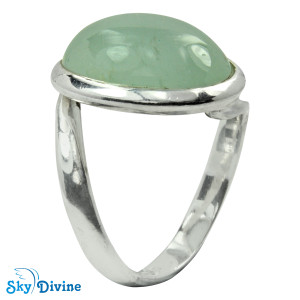 925 Sterling Silver moon stone Ring SDR2129 SkyDivine Jewellery RingSize 7.5 US
