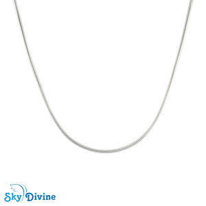 925 Sterling Genuine Silver Silver chain SDSC2100b SkyDivine Jewellery