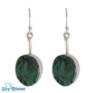 925 Sterling Silver turquoise Earring SDAER03 SkyDivine Jewellery
