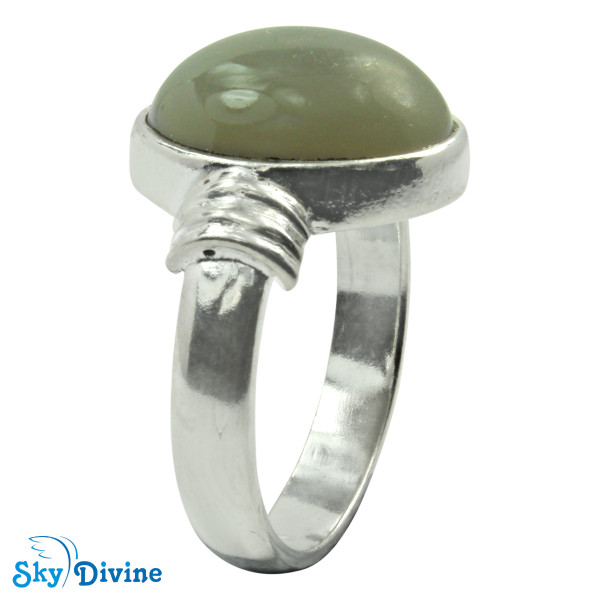 925 Sterling Silver moon stone Ring SDR2119 SkyDivine Jewelry RingSize 8 US