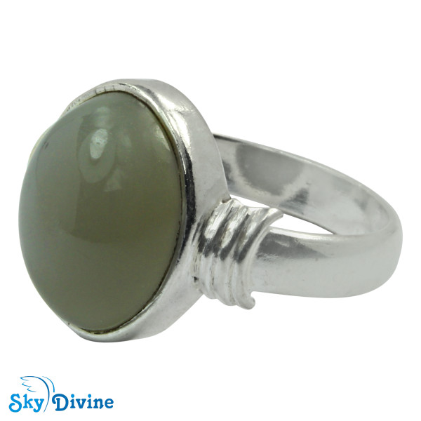 925 Sterling Silver moon stone Ring SDR2119 SkyDivine Jewelry RingSize 8 US Image2