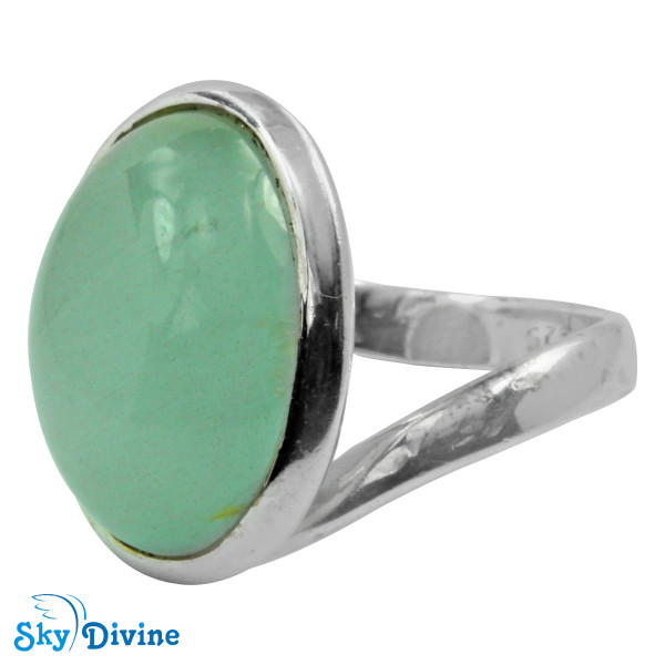 925 Sterling Silver moon stone Ring SDR2129 SkyDivine Jewellery RingSize 7.5 US Image2