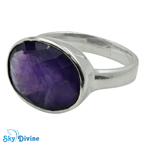 925 Sterling Silver amethyst Ring SDR2153 SkyDivine Jewellery RingSize 8 US Image2