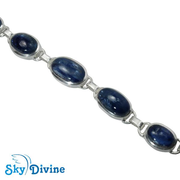 Sterling Silver Kyanite Bracelet SDBR2112 SkyDivine Jewellery Image3