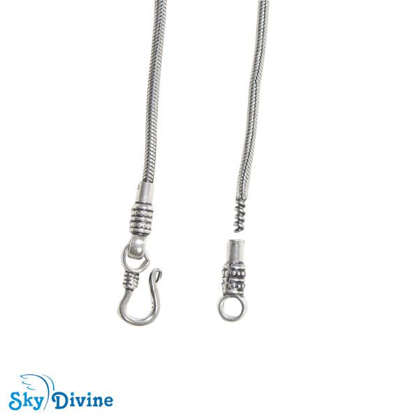 Sterling Genuine Silver Silver chain SDASC03 SkyDivine Jewellery Image5