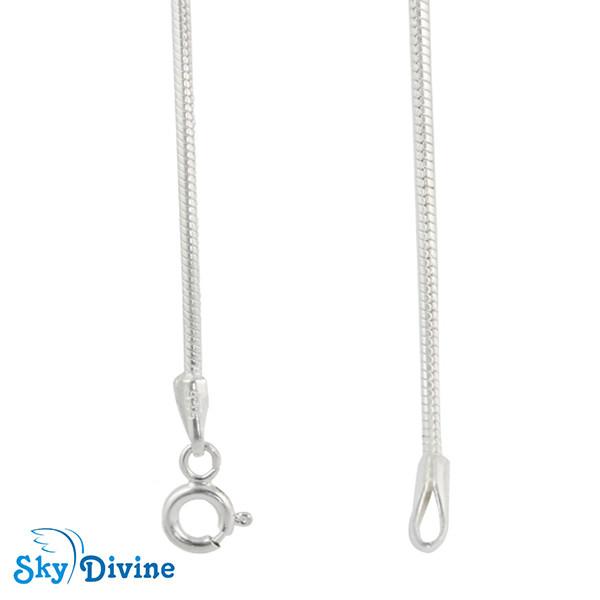 925 Sterling Genuine Silver Silver chain SDSC2100b SkyDivine Jewellery Image2