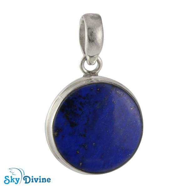925 Sterling Silver lapis lazuli Set SDAERP13 SkyDivine Jewellery Image4