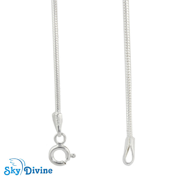 925 Sterling Genuine Silver Silver chain SDASC02 SkyDivine Jewelry Image2