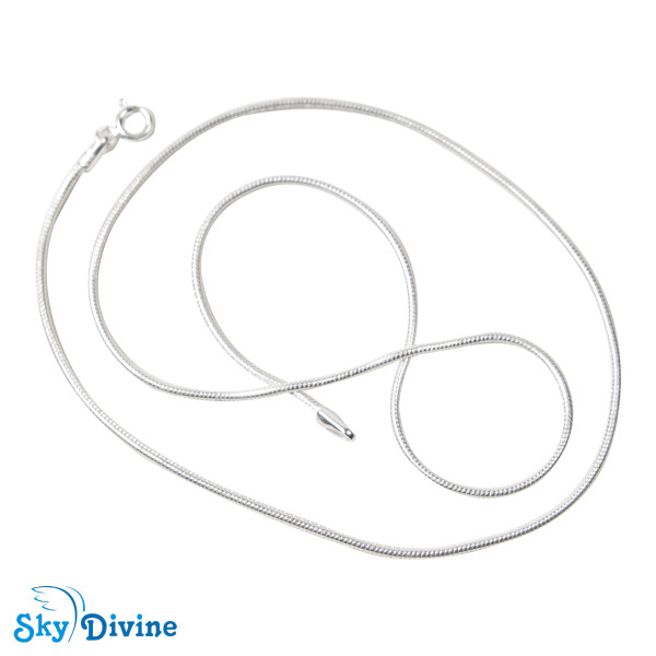 925 Sterling Genuine Silver Silver chain SDASC02 SkyDivine Jewelry Image3
