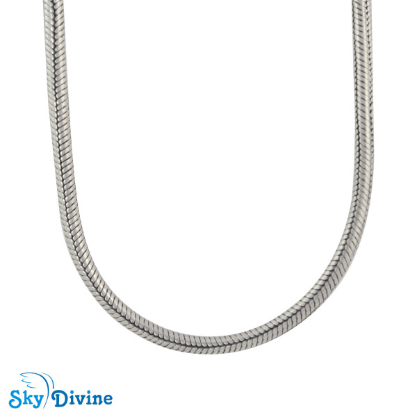 Sterling Genuine Silver Silver chain SDASC03 SkyDivine Jewellery