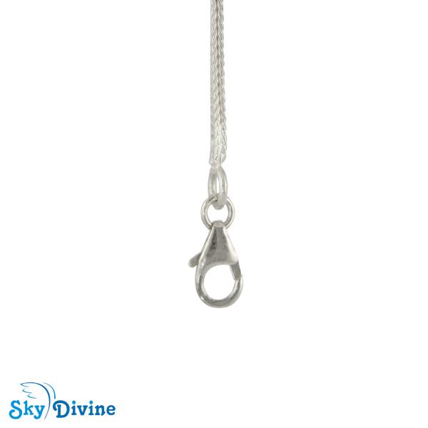 925 Sterling Genuine Silver Silver chain SDASC01a SkyDivine Jewelry Image3