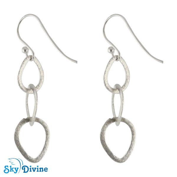 Sterling Genuine Silver Earring SDAER09b SkyDivine Jewellery Image2