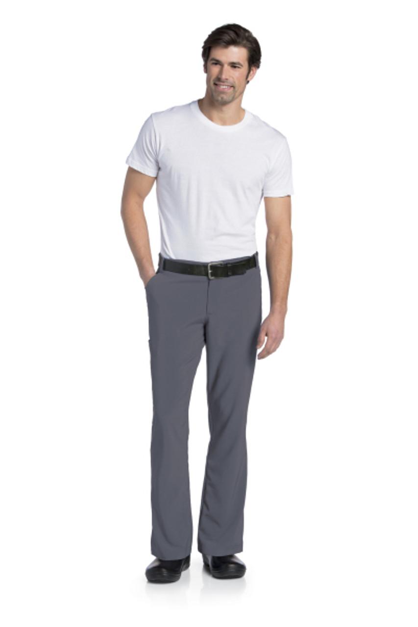 (2037) Landau for Men Scrubs - Mens Drawstring Cargo Pant