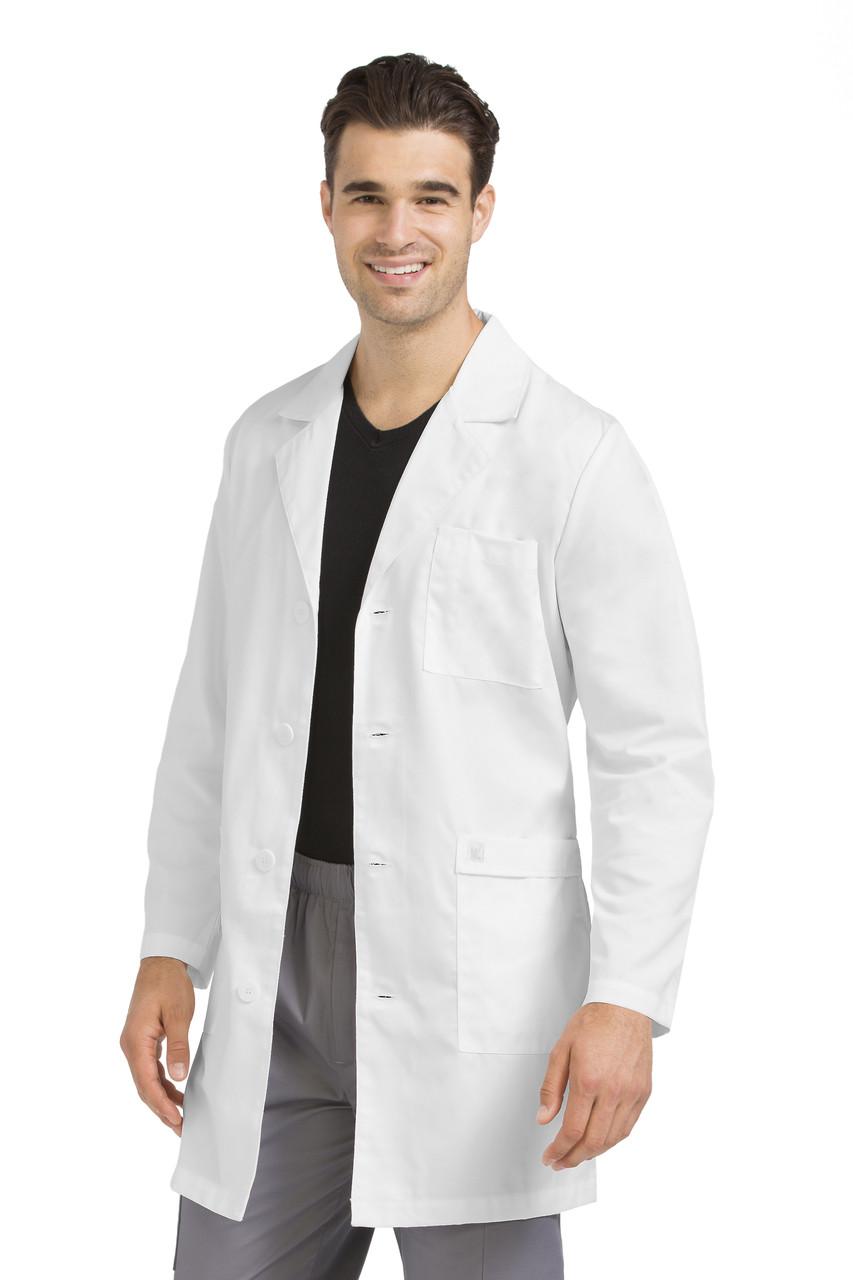 f50fb67e040 (3048) Med Couture Lab Coats - Mens Twill Lab Coat ...