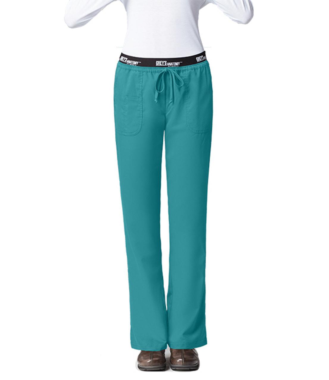 0f81cfcde0a (4275) Grey's Anatomy Active Scrubs - 3 Pocket Logo Elastic Waist Scrub  Pants ...