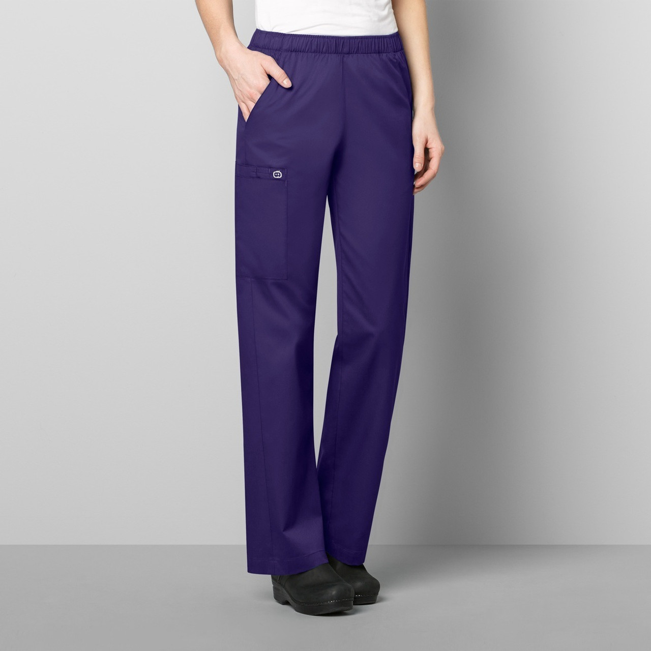 1b5de394180 501P WonderWink WonderWORK Women's Elastic Waist Pant Petite | Jens ...