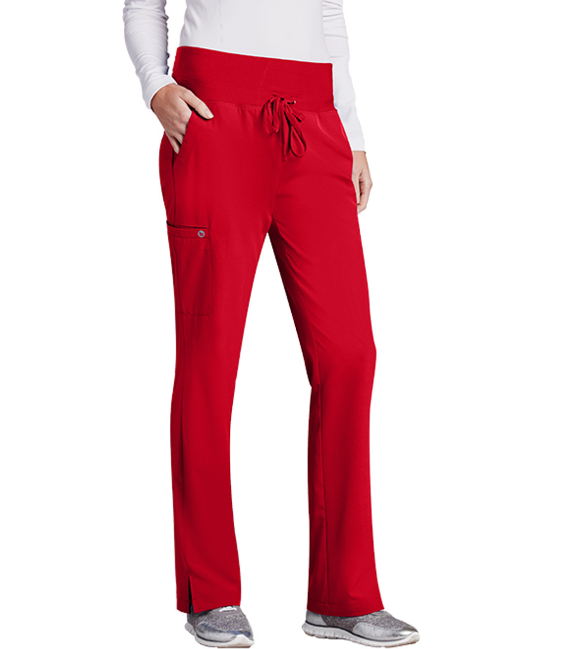 (5206) Barco One Knit Waistband 5 Pocket Scrub Pant