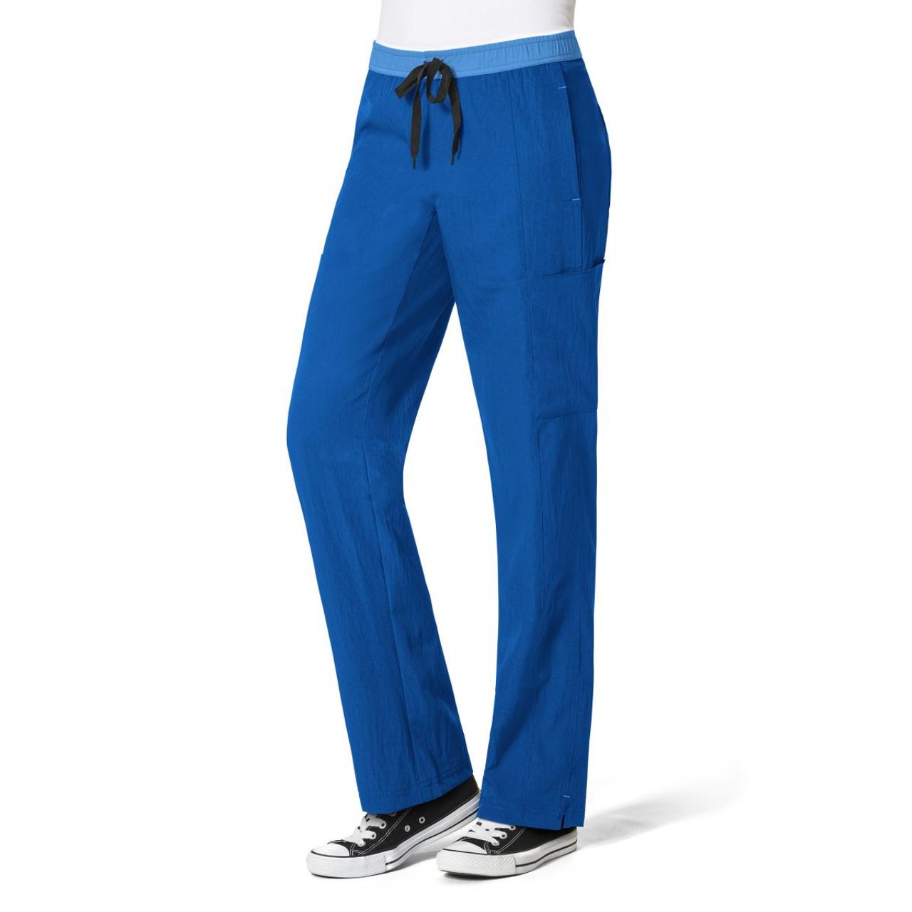 (5814T) WonderWink Four-Stretch Women's Straight Leg Cargo Pant Tall