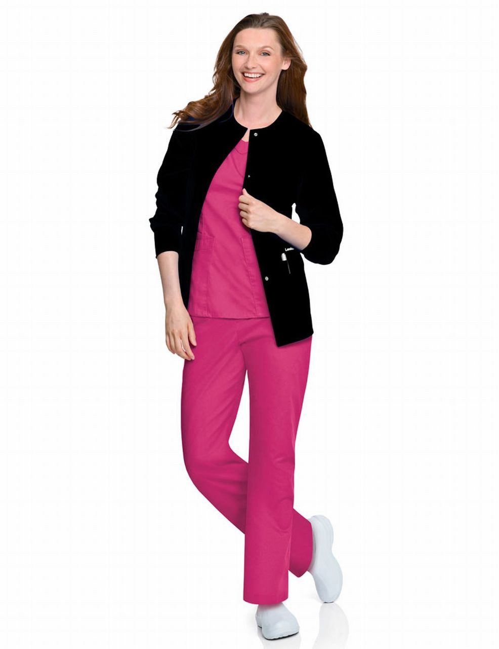 (7525) Landau Scrubs - Women's Warm-Up Jacket