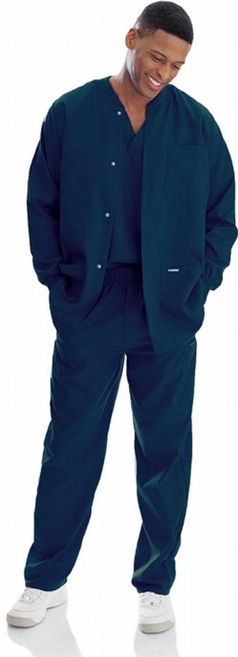 (7551) Landau for Men Scrubs - Men's Warm-Up Jacket