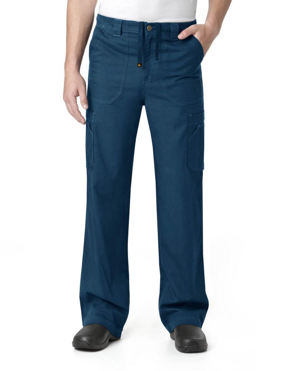 (C54108T) Carhartt Men's Ripstop Scrubs - Mens Multi-Cargo Pant (Tall)